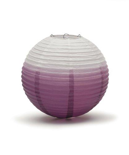 Ombre-Coloured-Round-Paper-Globe-Lanterns-Purple