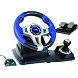 Wireless RF Steering Wheel and Pedals (PS3/PS2/PC) [import anglais]par LOGIC3
