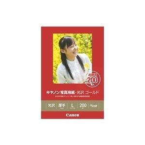 キヤノン写真用紙・光沢 ゴールド L判 200枚 GL-101L200