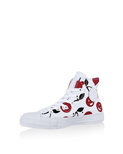 Converse Zapatillas abotinadas All Star Hi Graphics Blanco / Rojo