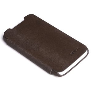 Rock BIGCITY Leather Case Side Flip for HTC ONE X (Coffee)