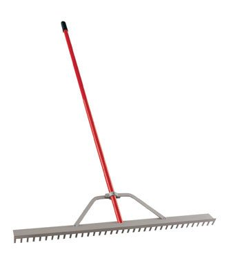 Corona 36in Landscape Rake with Aluminum Handle RK61054