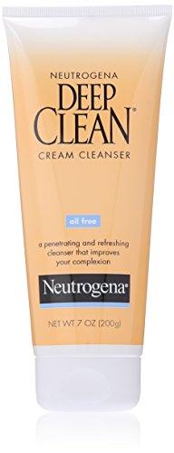 Neutrogena Oil-Free Deep Clean Cream Cleanser, 7 Ounce