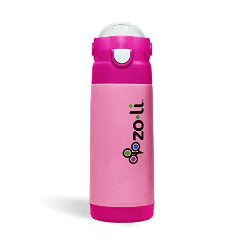 ZoLi DASH Vacuum Insulated Drink Bottle - Pink 12 oz
