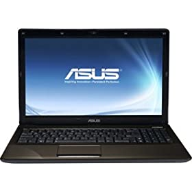 Asus Computer International K52n A1 15.6 Inch Led Notebook Athlon Ii P320 2.10 Ghz Dark Brown