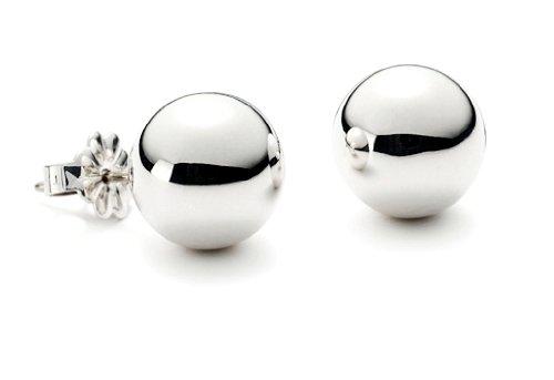 Bling Jewelry Sterling Silver Bead Ball Stud Earrings 7mm