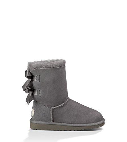 ugg-australia-girls-bailey-bow-boot-grey-size-6-m-us-big-kid