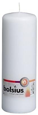 Bolsius Outdoorindoor Pillar Candle 200x70mm - White by Ivyline