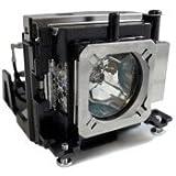 PJxJ replacement lamp POA-LMP132 / 610-345-2456 with housing for EIKI LC-XBL30 ; SANYO PLC-XW200/ PLC-XW200K/ PLC-XW250/ PLC-XW250K/ PLC-XW300/ PLC-XR201/ PLC-200/ PLC-XE33 projector BEAMER