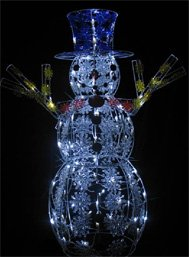 42″ Snowman 60 LED Lighted Outdoor Christmas