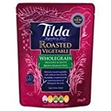 Tilda Steamed Basmati Roasted Red Pepper and Courgette Rice 250 g