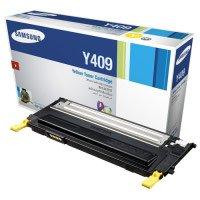 Samsung CLT-Y409S Laser Toner Cartridge, Works for CLX-3175FW