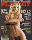 Playboy September 2007-Cover Amanda Paige (Clive Owen gets edgy, 20Q Jaime Pressly; Co-Star from My Name is Earl)