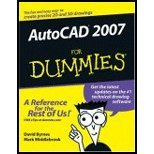 img - for AutoCAD 2007 for Dummies (06) by Byrnes, David - Middlebrook, Mark [Paperback (2006)] book / textbook / text book