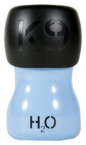H2O4K9, Stainless Steel K9 Water Bottle, 9-1/2-Ounce, Denim Blue
