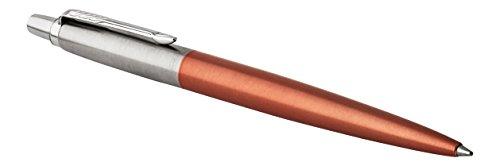 parker-stylo-bille-jotter-chelsea-orange-avec-attributs-chromes