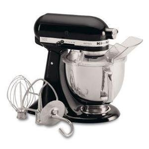 KitchenAid KSM150PSOB – Artisan Series 5-Quart Mixer, 10 Speed, Onyx Black Get Rabate