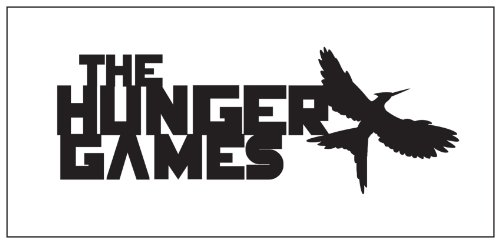 Hunger Games Sticker Decal Black