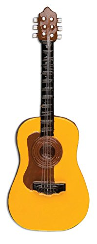 Personalisierte-Weihnachtsschmuck-Hobbyactivities-Akustische-Gitarre