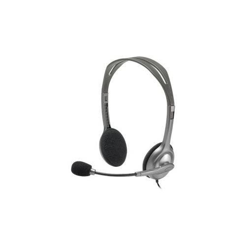 Logitech H110 Headset - Stereo - Mini-Phone - Wired - 20 Hz-20 Khz - Over-The-Head - Binaural Snr - Semi-Open - 72 Cable