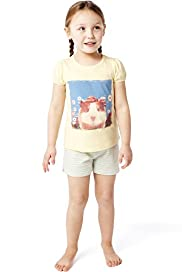 Pure Cotton Guinea Pig Shortie Pyjamas