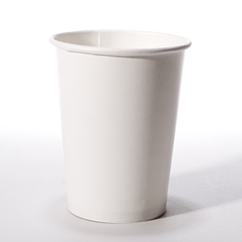 Paper White Cups