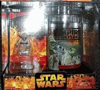 Star Wars the Empire Strikes Back Yoda Exclusive Cup with Figure