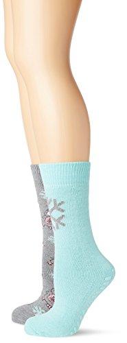 Totes Women's 2-Pack Original Slipper Socks,