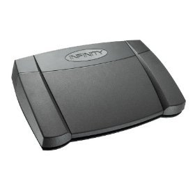Infinity USB Foot Pedal for PC Transcription IN-USB-2
