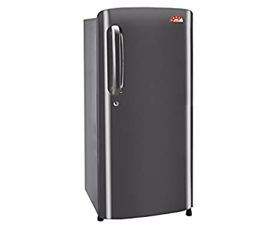 LG GL-B201ATNL.ATNZEBN Direct-cool Single-door Refrigerator (190 Ltrs, 4 Star Rating, Titanium)