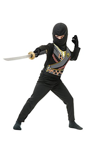 Black Ninja Avengers Boys Costume Series IV