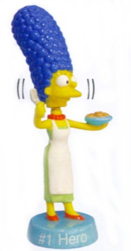 Simpsons - Marge Simpson #1 Hero Ceramic Bobblehead Figure - 1