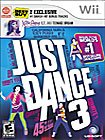 Just Dance 3 with Katy Perry Bonus Tracks for Wii