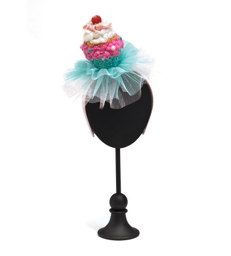 Pink Cupcake Headband