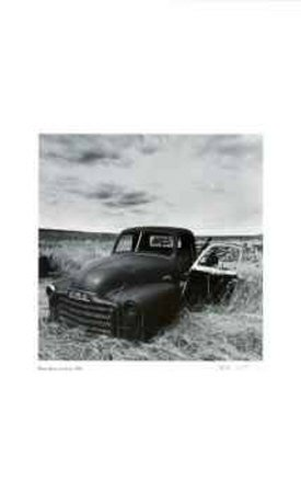 Untitled (GMC truck) by Morry Katz, 12x20