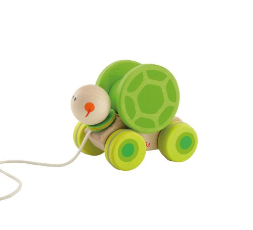 Sevi Pull Along Turtle with Motion - 1