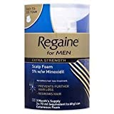 EGAINE FOR MEN EXTRA STRENGTH SCALP FOAM 73ML NEW EASY TO APPLY- ONE MONTH PACK - 73 ML- 1 MONTH