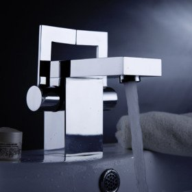 post modern bathroom sink faucet with pop up waste touch on bathroom