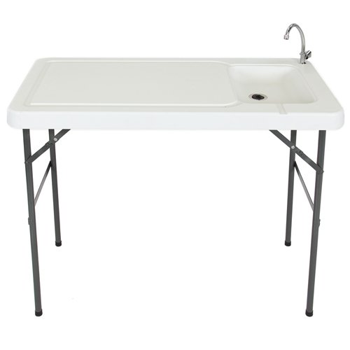 Best Choice Products Folding Portable Fish Fillet/Hunting/Cutting Table with Sink Faucet (Fish Filet compare prices)