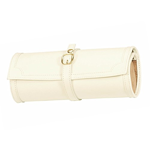 lionite-mele-leatherette-watch-jewellery-travel-roll-case-cream