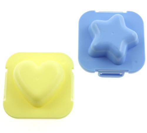 Plastic Egg Mold Heart And Star