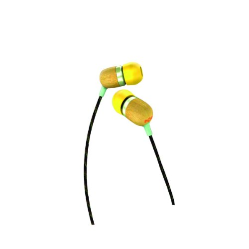 House Of Marley Em-Je003-Cu Smile Jamaica Curry In-Ear Headphones With Apple Three-Button Controller