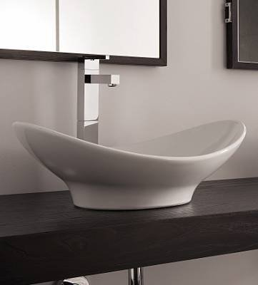 Waschbecken schale mit unterschrank  Bester Badmöbel Günstig: ##@ Scarabeo Zefiro Waschtisch-Schale ...