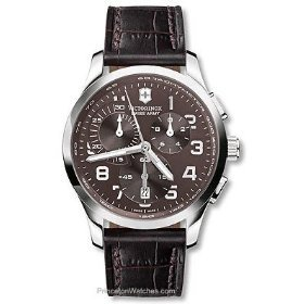 Victorinox Swiss Army Men's 241297 Alliance Brown Dial Watch