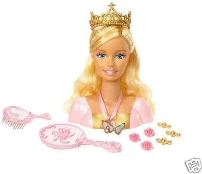 Barbie Frisierkopf Prinzessin Anneliese