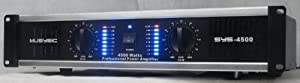 2 Channel 4500 Watts Professional Power Amplifier 2U Rack mount SYS-4500 MUSYSIC