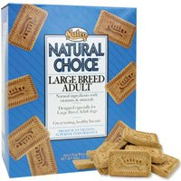 Nutro Natural Choice Large Breed Adult Dog Biscuits