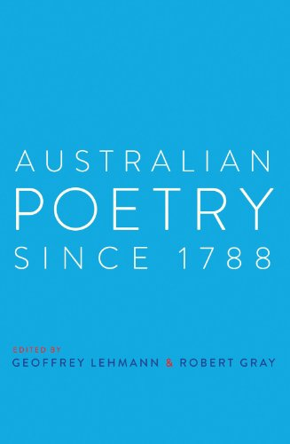 Australian Poetry Since 1788