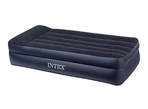 Intex 66706 Lit Gonflable 1 Place Large Electrique 220 volts 99 x 191 x 42 cm