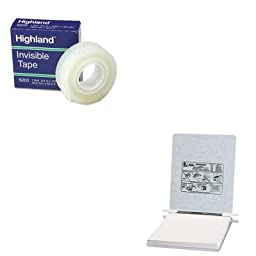 KITACC54114MMM6200341296 - Value Kit - Acco Pressboard Hanging Data Binder (ACC54114) and Highland Invisible Permanent Mending Tape (MMM6200341296)